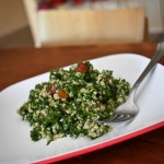 tabouleh on a plate
