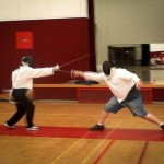 Got my butt kicked at fencing class - 11-29-11-2