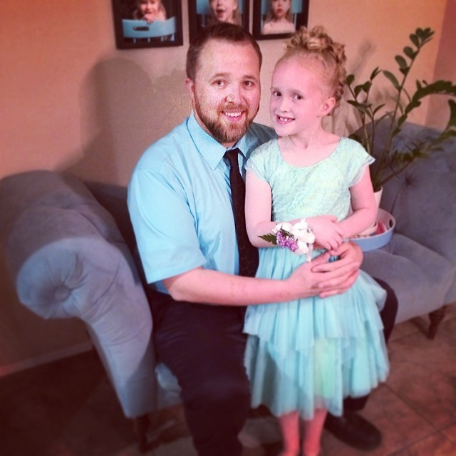 We're about to rock this Daddy Daughter Dance!
