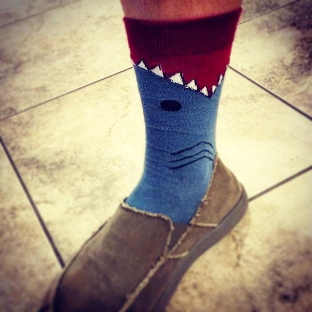 You know, #SharkWeek.