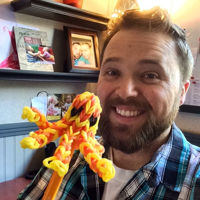Ginger made me the coolest octopus pencil topper!